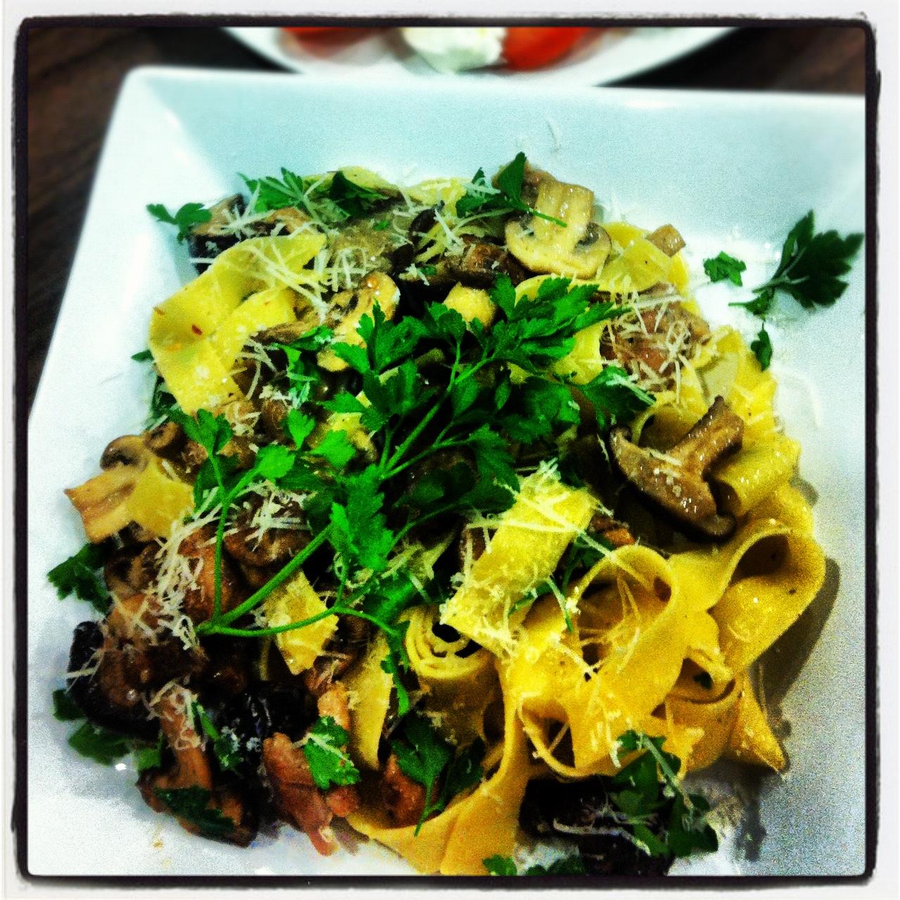 Mushroom Pappardelle With Taleggio Cheese Recipes — Dishmaps