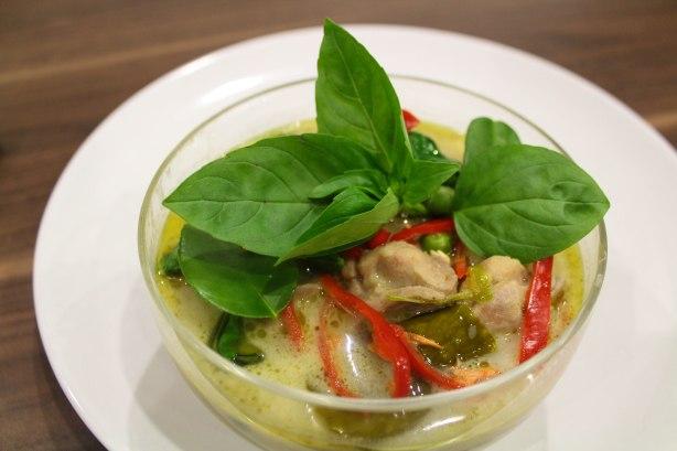 Sweet Thai green curry